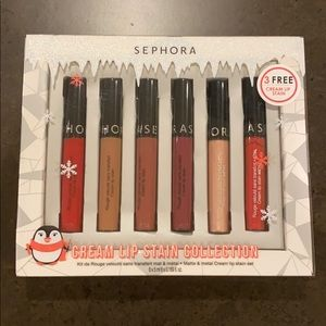 NWT Sephora Cream Lip Stain Collection